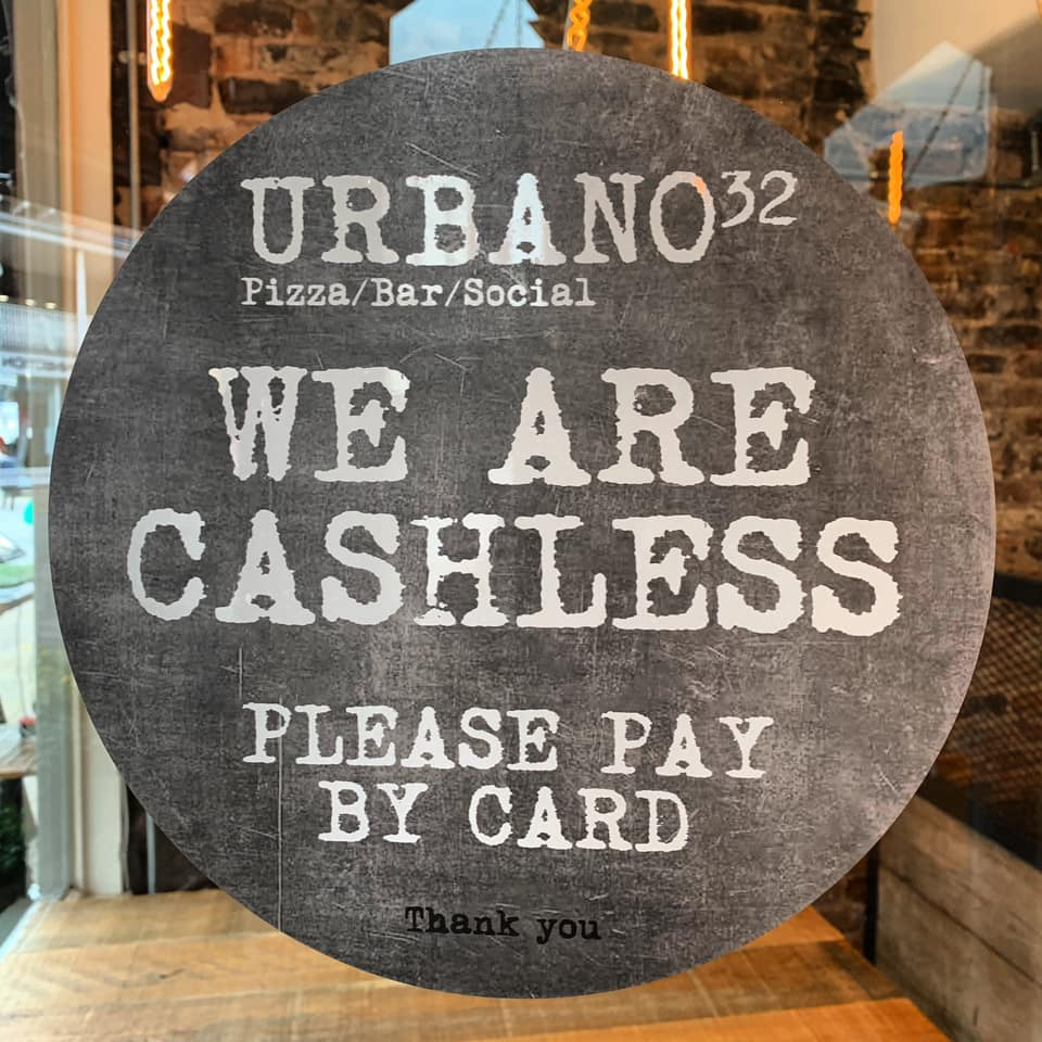 We printed these brilliant Window Stickers for Urbano32