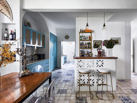 The Chic Home: A Home Inspired By Rustic Villas On The Italian Coast