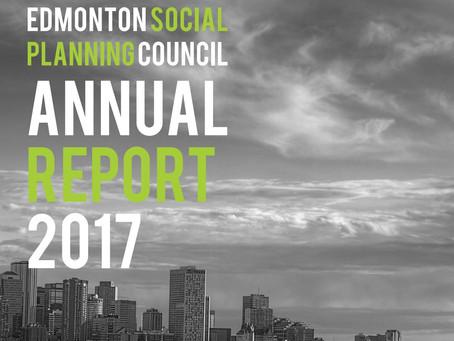 Edmonton Social Planning Council Annual Report 2017