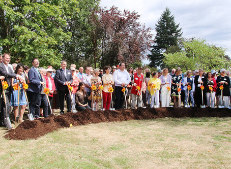 VIDEO: Sod-turning for $10 million Cowichan Hospice House a joyful event