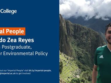"""""""Estoy investigando cómo integrar mejor las políticas climáticas en la planificación de la ciudad.."""""""