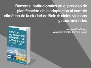 Las barreras institucionales ante el cambio climático