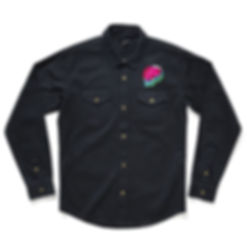 ql lightning skull embroiderd shirt.jpeg