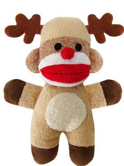 Reindeer Jingle Sock Monkey