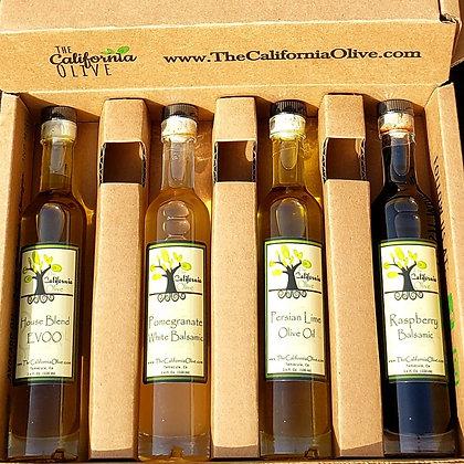 Olive Oil and Balsamic Sampler Set - 4 pk small