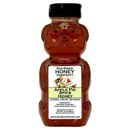 Apple Pie Spice Infused Wildflower Honey