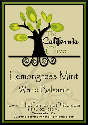 Lemongrass Mint White Balsamic