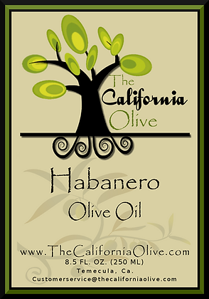 Habanero Infused Olive Oil