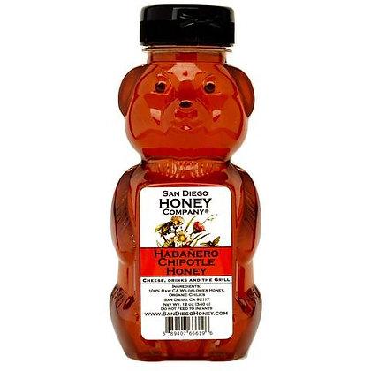Habanero Infused Raw San Deigo Honey