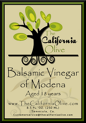 18 Year Aged Balsamic of Modena