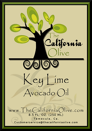 Key Lime Avocado Oil