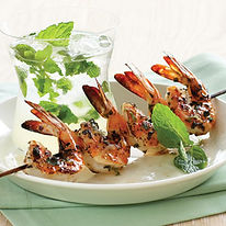 Mojito Marinated Shrimp