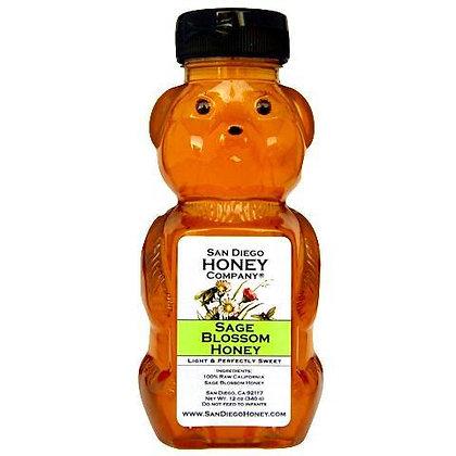 Raw Southern California Sage Blossom Honey