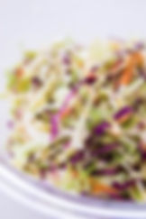 Peach White Balsamic Coleslaw