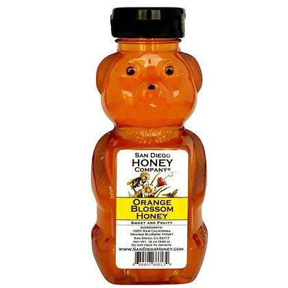 Raw Southern California Orange Blossom Honey