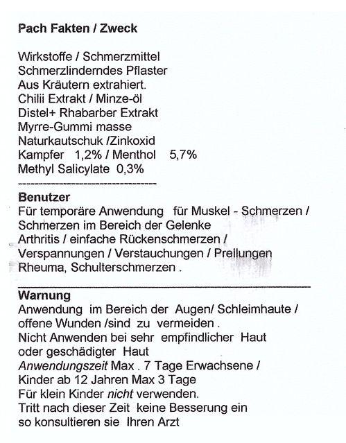Wärmepflaster - Christian Müller