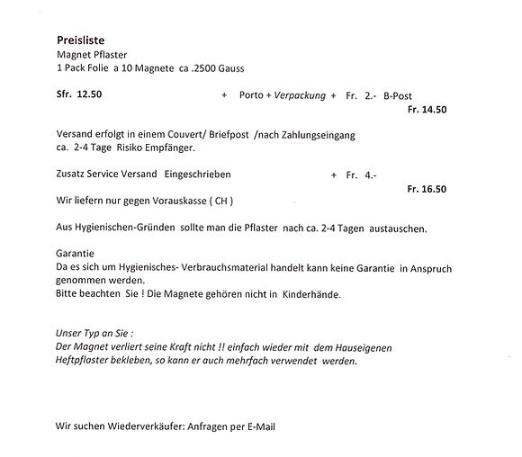 Heilmagnete - Christian Müller