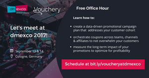 Vouchery.io Free Office Hour at dmexco