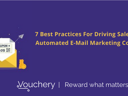 7 Best Practices For Driving Sales With Automated Email Marketing Coupons