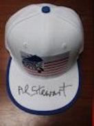 Al Stewart Autographed White Trucker Cap