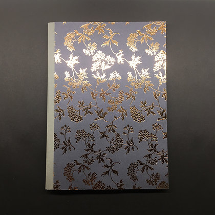 """DIY Notizbuch """"Kupfer auf Grau"""""""