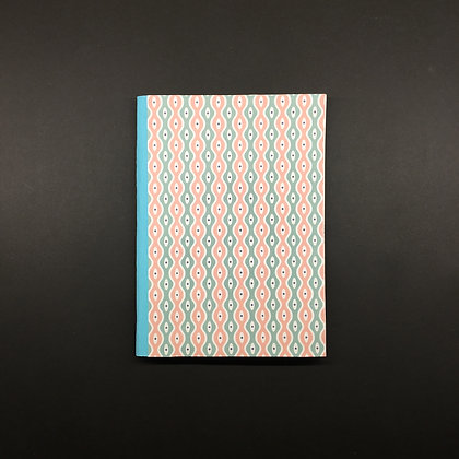 "DIY Notizbuch ""Green-Pink"""