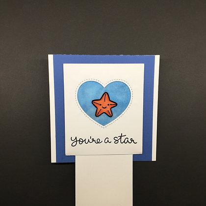 "Karte ""You're a Star"""