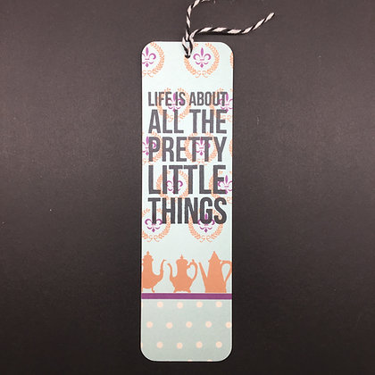 "DIY Lesezeichen ""Pretty little Things"""