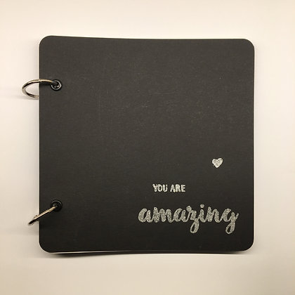 "DIY Notizbuch ""You are amazing"""