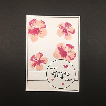"""Karte """"Pink Flower"""""""