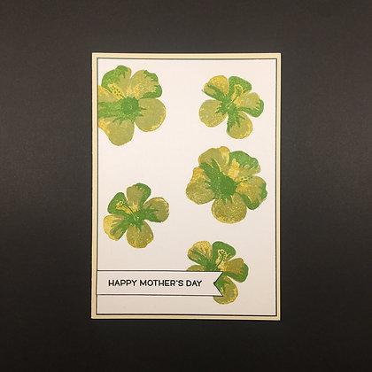 """Karte """"Green Flower"""""""