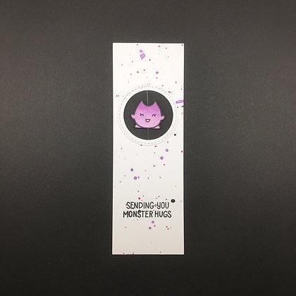 """DIY Spinner-Lesezeichen """"violet"""""""