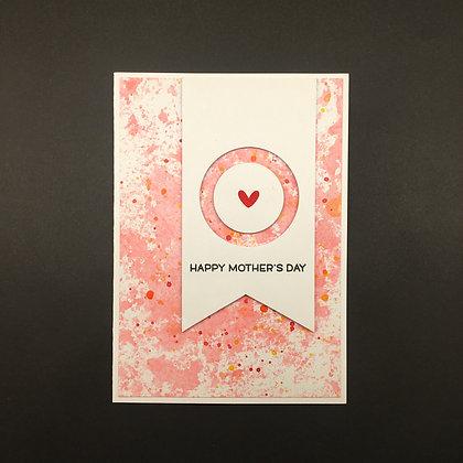 "Karte ""Happy Mother's Day"""