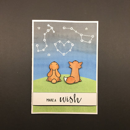 """Karte """"Make a Wish"""""""