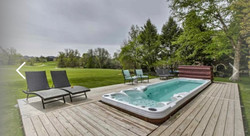 Swim Spa Deck