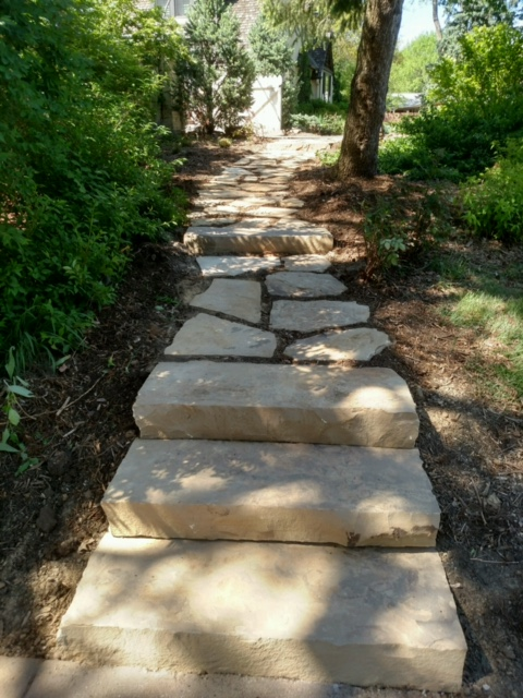 Limestone Pathway