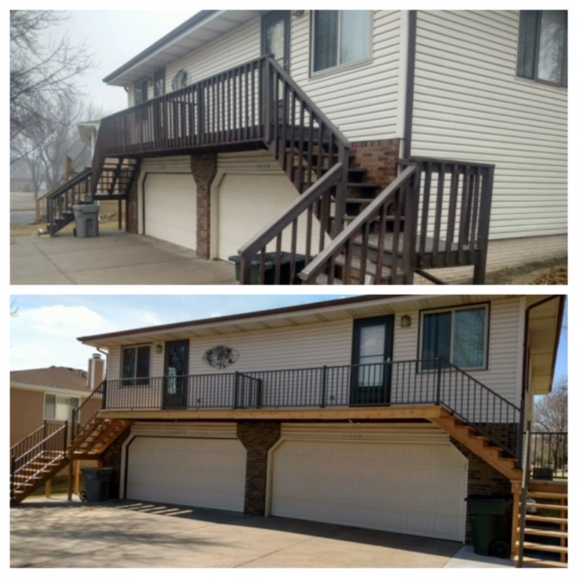 Before and After Deck/Railing