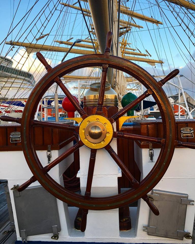 Royal Clipper wheel