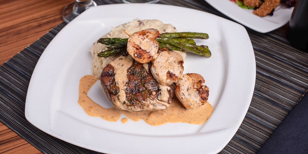 20% Off Of Dinner Entree When You Purchase An Appetizer- Fivestar Members!