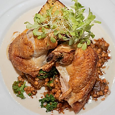Pan Seared Local Chicken