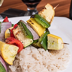 MARINATED VEGGIE KABOBS