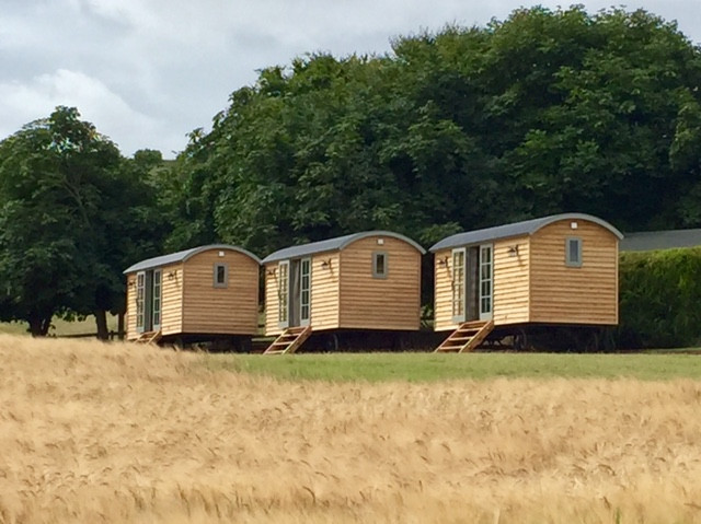 Our 3 Shepherd's Huts