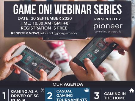 PCA Game On! Webinar Series - Episode 1