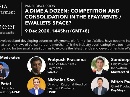 A Dime a Dozen: Consolidation in the ePayments and eWallets space