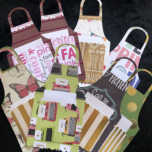 Apron Gift Card Holders