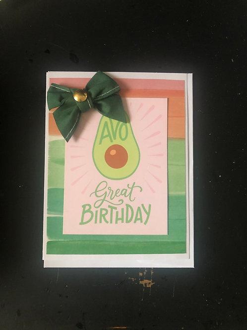 AVO Birthday
