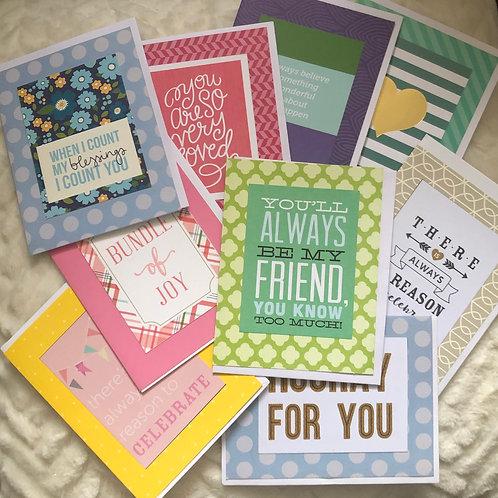 Assorted Card Set