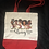 Thumbnail: Cotton Canvas Tote w/Red Bottom
