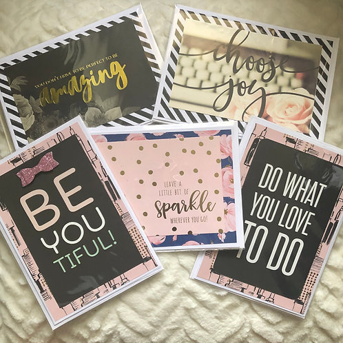 Be You! Card Set