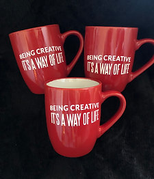 Mugs- Being Creative